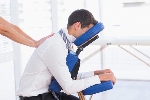 Stoelmassage mogelijk als bedrijfsmassages